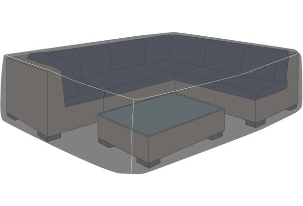 "deVries Schutzhaube Premium Loungegruppe quadrat. Gr. \""L\"""