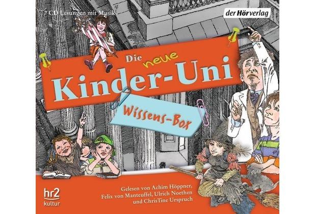 Die NEUE Kinder-Uni Wissens-Box Hörbuch