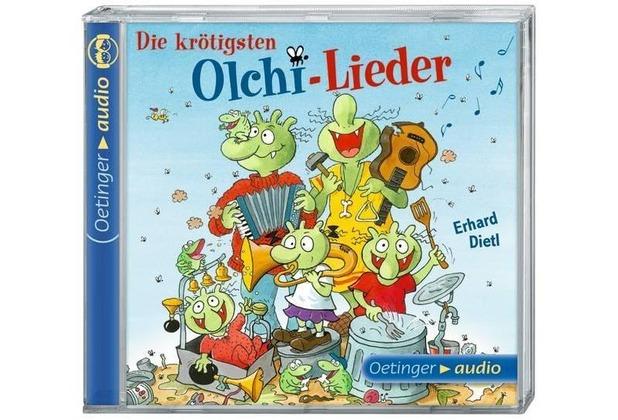 Die krötigsten Olchi-Lieder (CD) Hörbuch