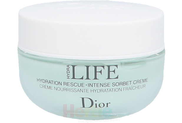 Dior Hydra Life Hydration Rescue Int. Sorbet Cr. Norma To Dry Skin 50 ml