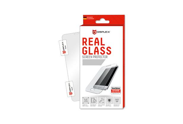 Displex Displex, Real Glass 0,33mm + Rahmen, Apple iPhone 6, 7, 8, Displayschutzglasfolie