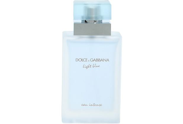Dolce & Gabbana D&G Light Blue Eau Intense Pour Femme Edp Spray  25 ml