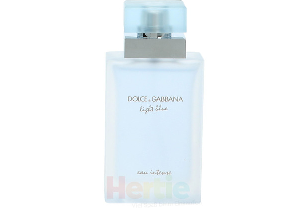 Dolce & Gabbana D&G Light Blue Eau Intense Pour Femme Edp Spray 25 ml