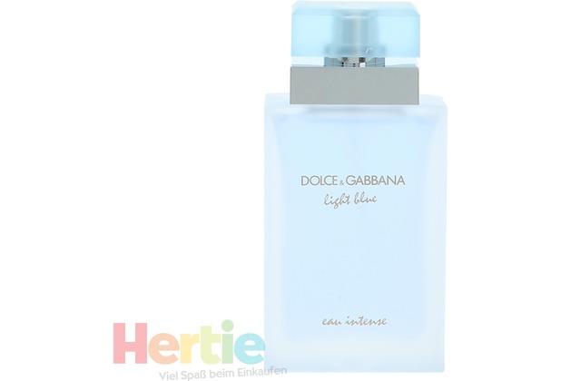 Dolce & Gabbana D&G Light Blue Eau Intense Pour Femme Edp Spray  50 ml