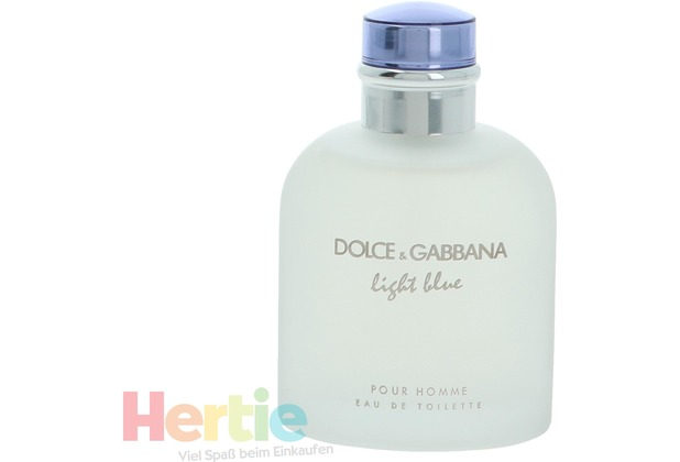 Dolce & Gabbana D&G Light Blue Pour Homme Edt Spray  125 ml