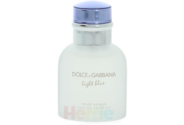 Dolce & Gabbana D&G Light Blue Pour Homme Edt Spray 40 ml