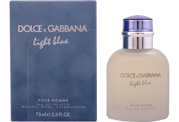 Dolce & Gabbana D&G Light Blue Pour Homme edt spray 75 ml