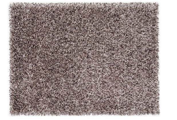 Lina Ruperti Hochflorteppich Domingo Natural granit 90 cm x 160 cm