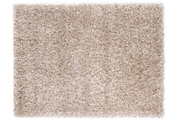 Lina Ruperti Hochflorteppich Domingo Natural sand 90 cm x 160 cm