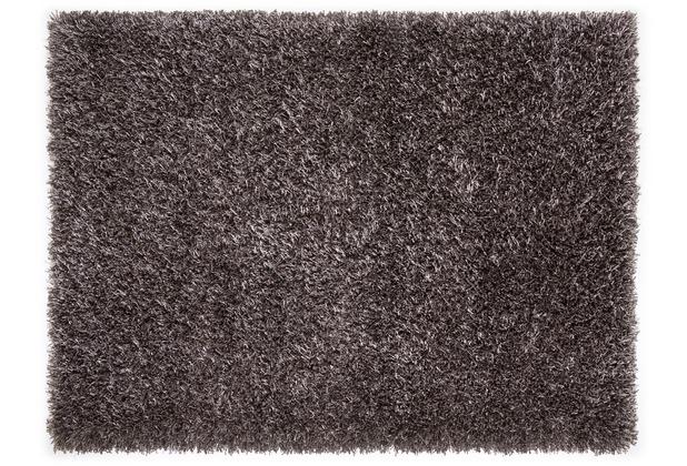 Lina Ruperti Hochflorteppich Domingo Natural schiefer 90 cm x 160 cm