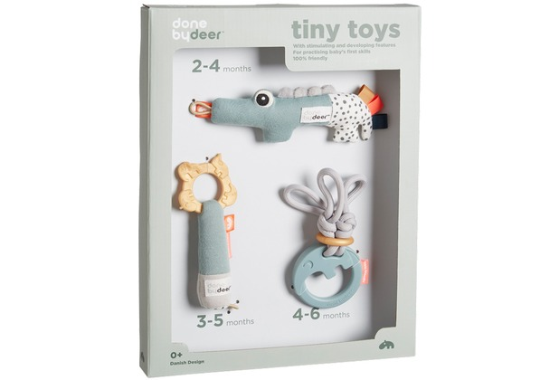 Done by Deer Tiny Activity Toys, Geschenkset