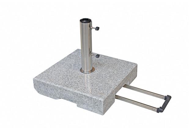 doppler Active Trolley Granitsockel ca. 70 kg, mit Rollen