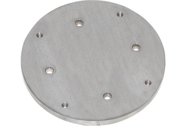 doppler Adapter 12/16 zu Granitplatte 140kg, Edelstahl
