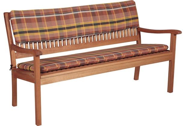 doppler Bankauflage Sitz 3-er ca. 150x45x6cm D. 24