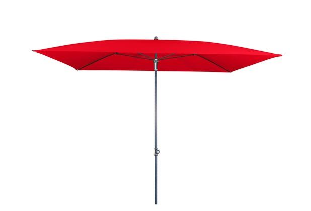 doppler GS Festz. Waterproof ca. 230x190/4tlg. D. 809 rot Sonnenschirm