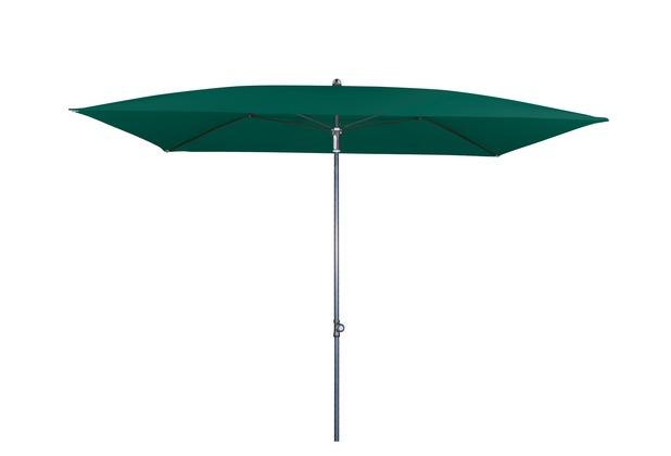 doppler GS Festz. Waterproof ca. 230x190/4tlg. D. 812 d-grün Sonnenschirm