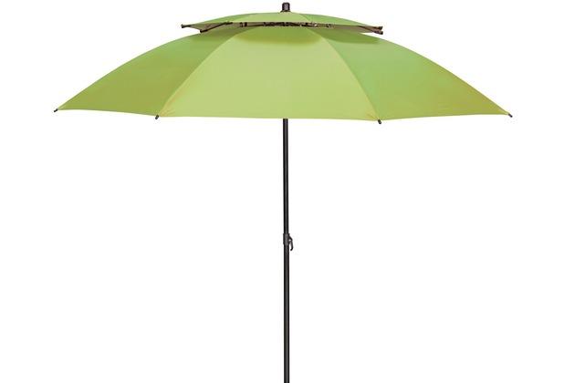doppler GS Windprofi 200, ca. 200/8 tlg. D. 834 apfelgrün, mit Tragetasche Sonnenschirm