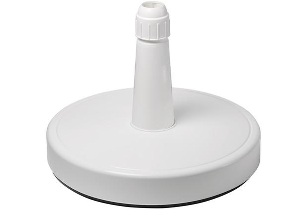 doppler HD-PE-Füllsockel 70kg weiss - zum Füllen m.Sand - Rohr 28 - 65 mm