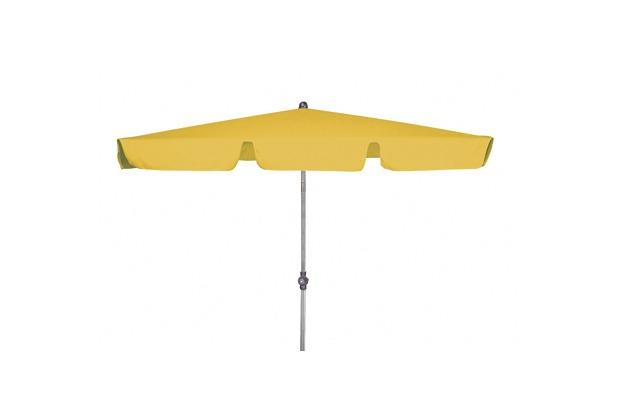 doppler Rechteckschirm Active Paragon ca. 180x120cm/4tlg. D. 811 gelb, Gestell silber