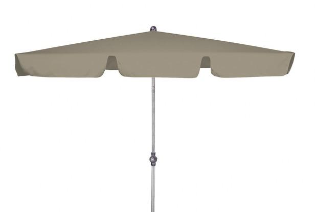 doppler Rechteckschirm Active Paragon ca. 180x120cm/4tlg. D. 846 beige, Gestell silber
