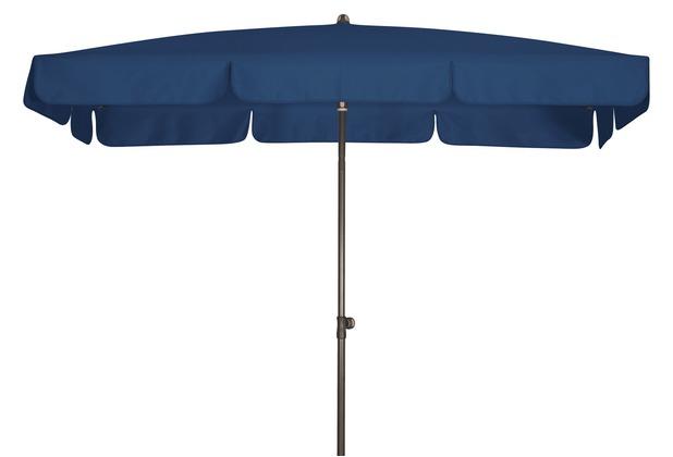 doppler Sonnenschirm GS Sunline Waterproof III 225x120/4tlg. D. 810 dunkelblau