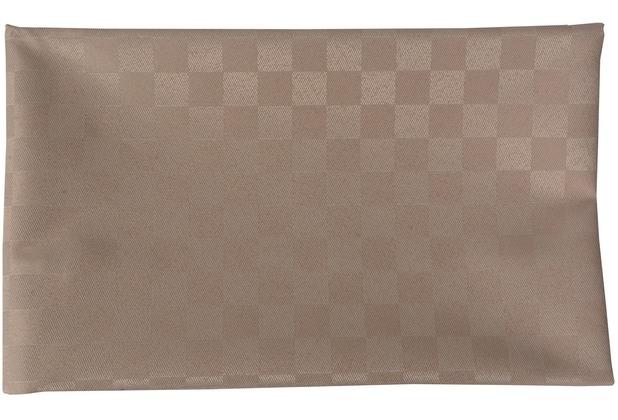doppler Tischläufer 100% PES Struktur m. Fleckschutz, ca. 140x50cm D. 846 greige, einzeln verpackt