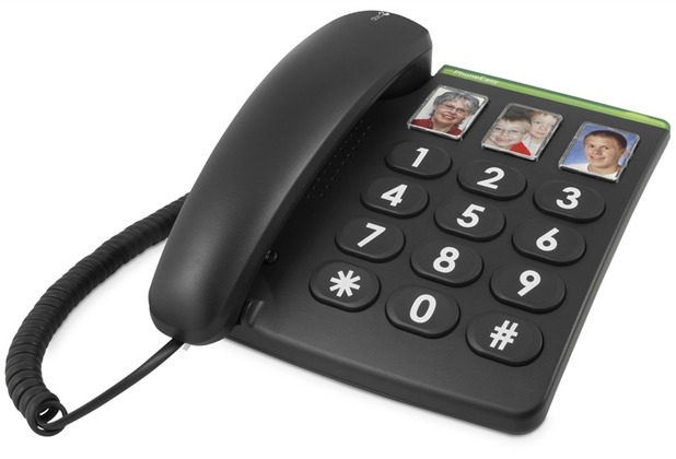 Doro PhoneEasy 331ph, schwarz