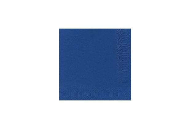 Duni Dispenser-Servietten 2 lagig 33 x 33 cm Dark Blue, 300 Stück