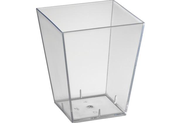 Duni Amuse-Bouche® Square, groß transparent 150 ml 25 Stück
