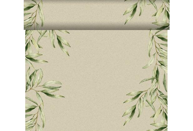 Duni Dunicel-Tischläufer Tête-à-Tête Foliage 24 m x 0,4 m (20 Abschnitte) 1 Stück