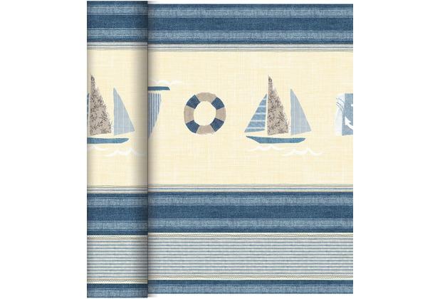 Duni Dunicel-Tischläufer Tête-à-Tête Seaway, 40cm breit, perforiert 1 Stück