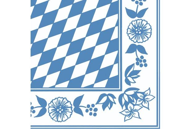 Duni Dunisoft-Servietten Bayer. Raute 40 x 40 cm 60 Stück