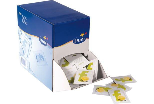 Duni Erfrischungstücher Spenderbox 71 x 51 mm 250 Stück