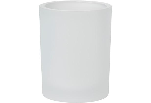 Duni Kerzengläser für Nachfüller und Teelichte Flexible 100 x 80 mm Flexible, frosted Glas 1 Stück