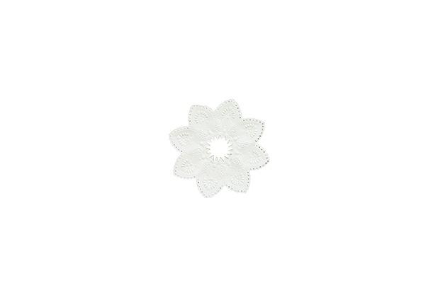 Duni Kerzenmanschetten weiß 100 Stück