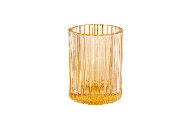 Duni Kezenhalter Comodo creamy yellow, Glas 70 x 55 mm 1 Stück