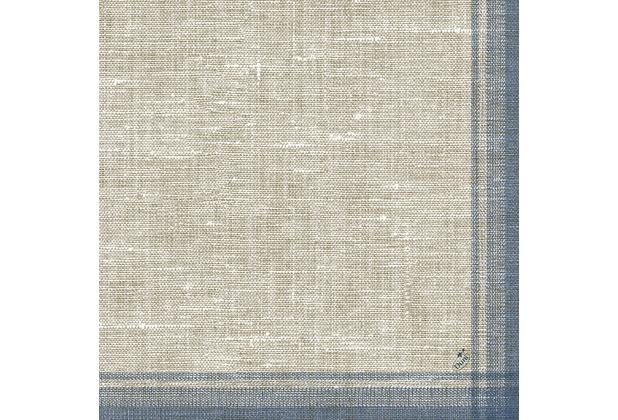 duni klassik servietten motiv linus blue 40x40 cm 4lagig gepr gt 1 4 falz 50 st. Black Bedroom Furniture Sets. Home Design Ideas