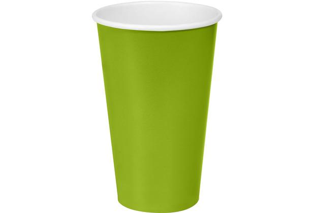 Duni Duni Pappbecher Pappe Green 50 cl 10er