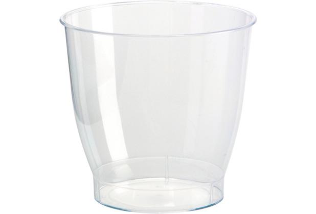 Duni Schnapsgläser Plastik transparent 6,5 cl 15er