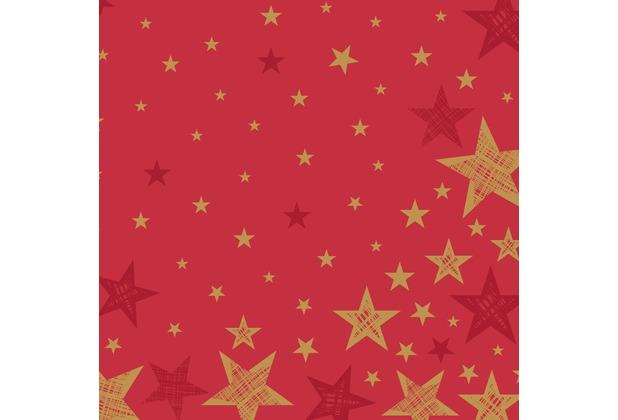 Duni Servietten Shining Star Red 40 x 40 cm 12 St.