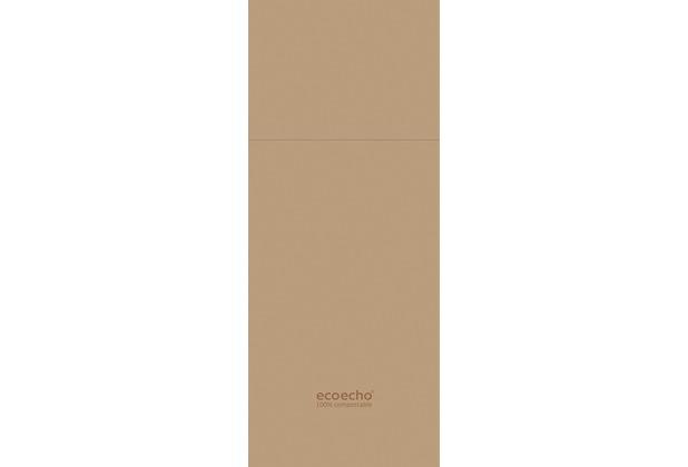 Duni Serviettentaschen Duniletto® Slim ecoecho® 400 x 330 mm 65 Stück