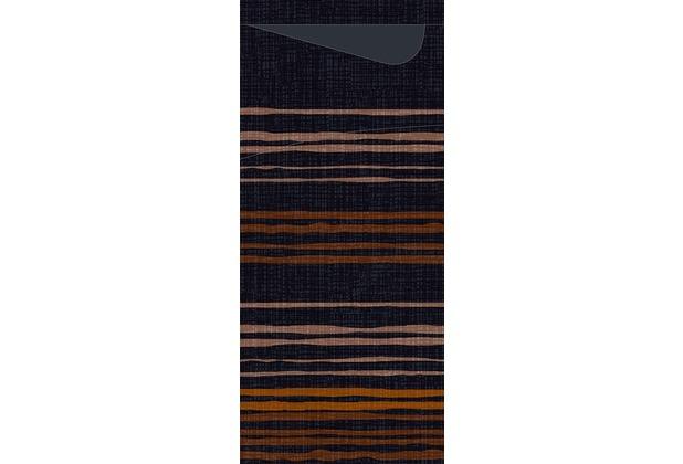Duni Serviettentaschen Sacchetto® Tissue Brooklyn Black 190 x 84 mm 100 Stück