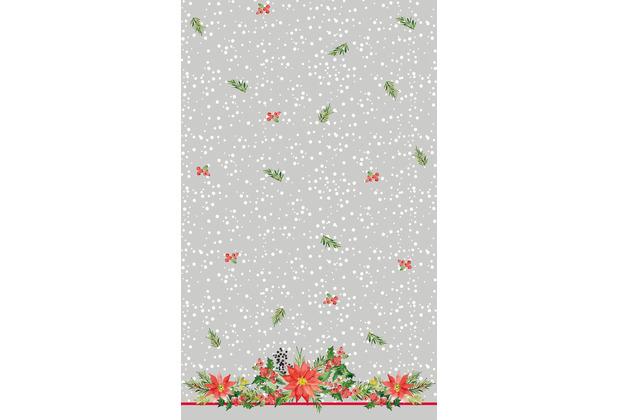 Duni Tischdecken Dunicel® X-Mas Flowers 138 x 220 cm 1 Stück