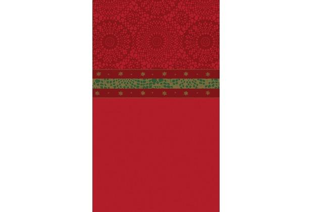 duni tischdecken motiv festive charme red 138 x 220 cm 1 st ck. Black Bedroom Furniture Sets. Home Design Ideas