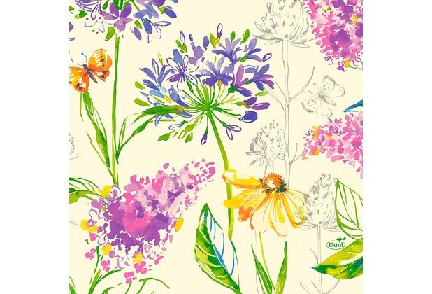 Duni Zelltuchservietten Sweet Spring 33 x 33 cm 50 Stück