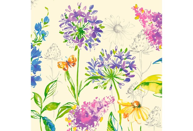 Duni Zelltuchservietten Sweet Spring 40 x 40 cm 250 Stück