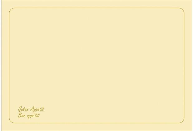 Duni Dunicel-Sets 33 x 48 cm Bon Appétit Cream 500 Stk.
