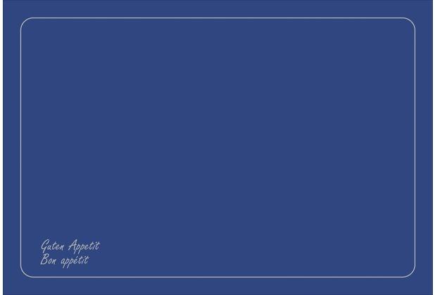 Duni Dunicel-Sets 33 x 48 cm Bon Appétit Dark Blue 500 Stk.