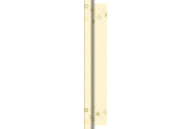 Duni Dunicel-Tischdeckenrollen 1,18 m x 25 m Star Stories Cream