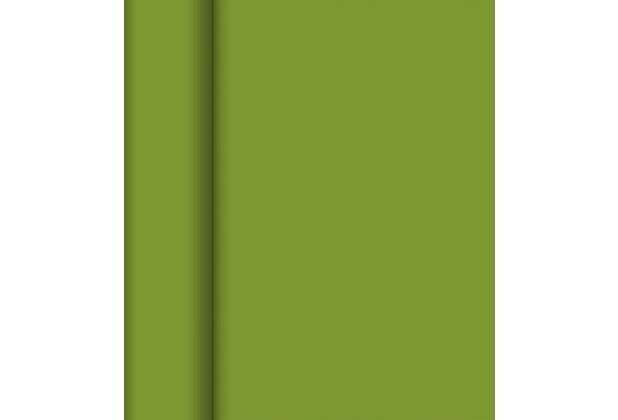 Duni Dunicel-Tischläufer Tête-à-Tête leaf green 24 m x 0,4 m (20 Abschnitte) 1 Stück